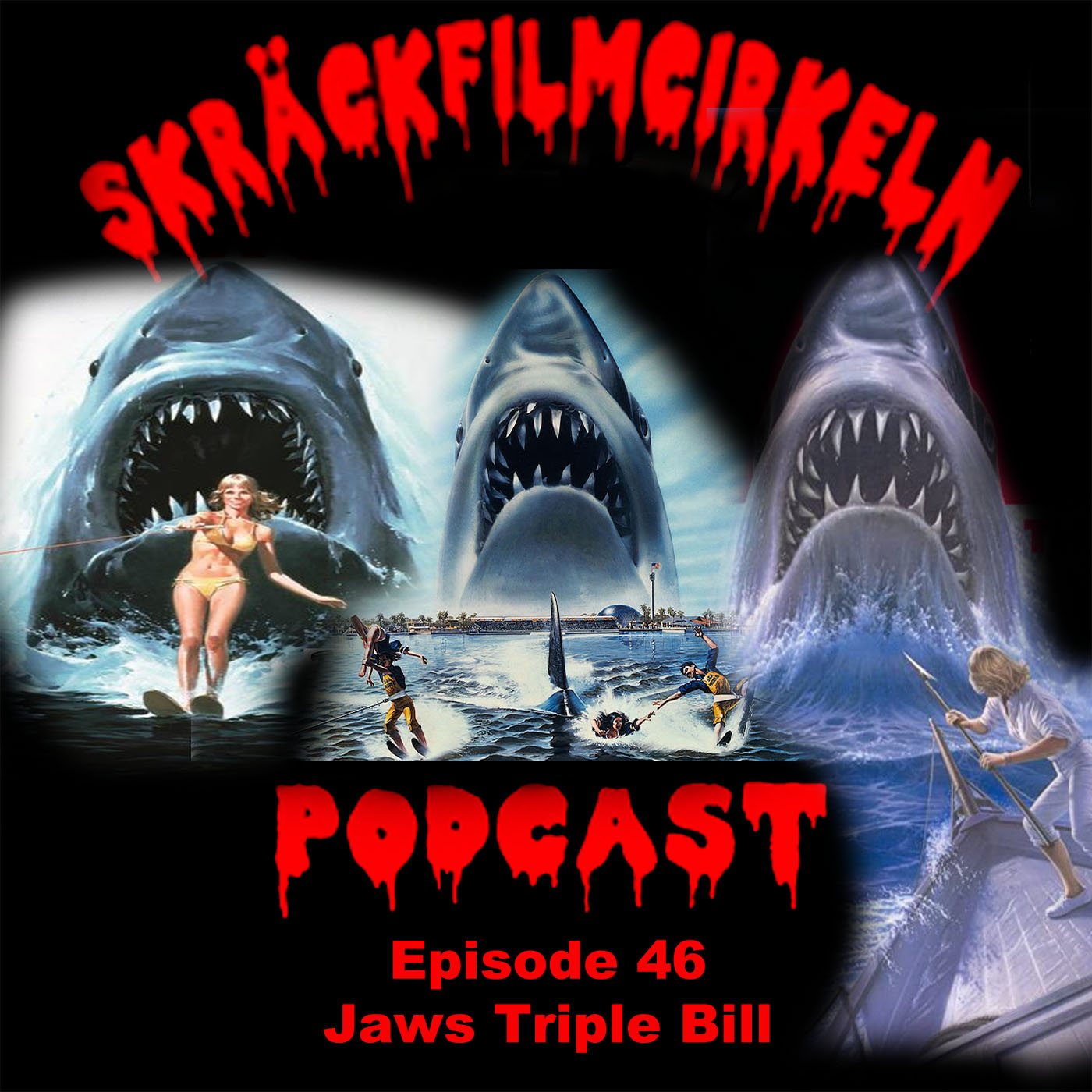 Episode 46 – Jaws 2-4 Triple Bill
