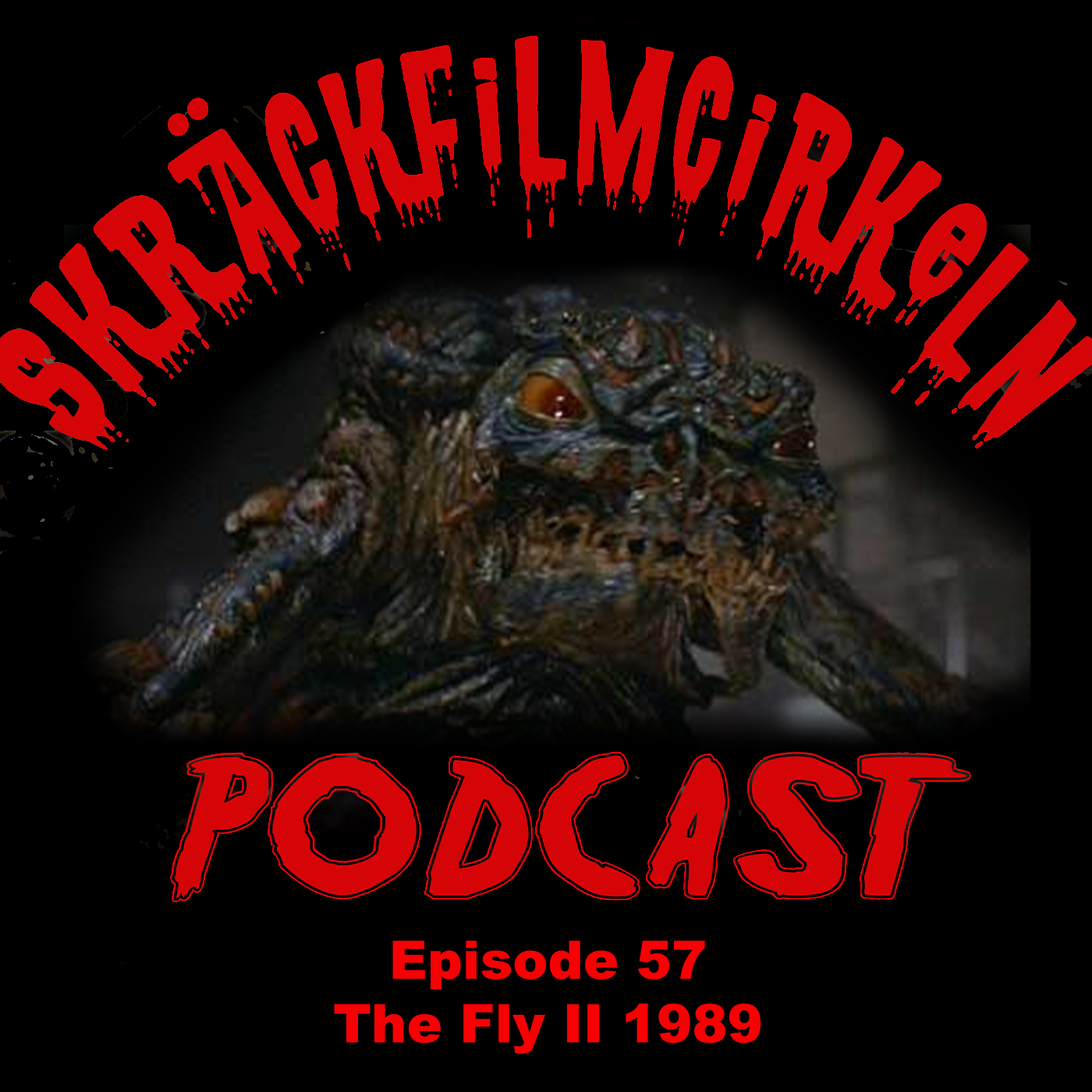 Episode 57 – Uppföljare – The Fly II (1989)